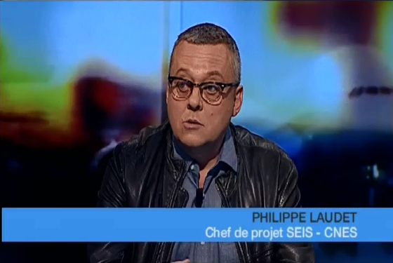 Interview of Philippe Laudet explaining INSIGHT mission - Credits TLT